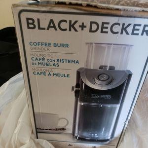 Black & decker | coffee grinder